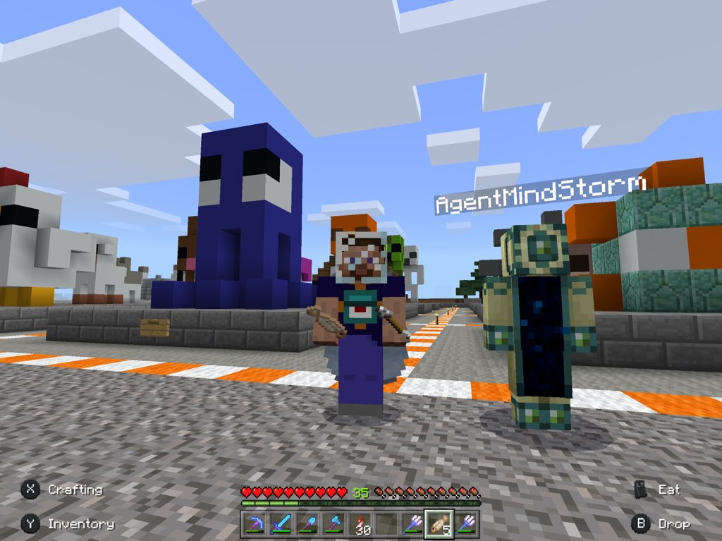 Minecraft News A Twitter Thanks At Agentms For Joining My