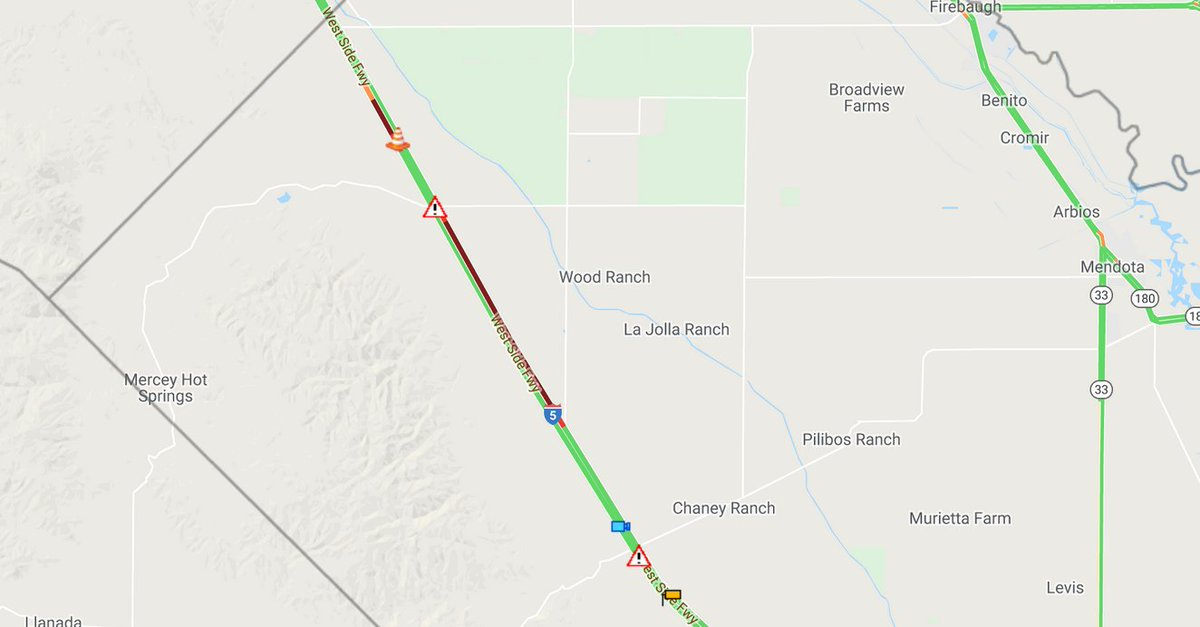 UPDATE: All lanes are open and clear. Traffic still slow in the area.