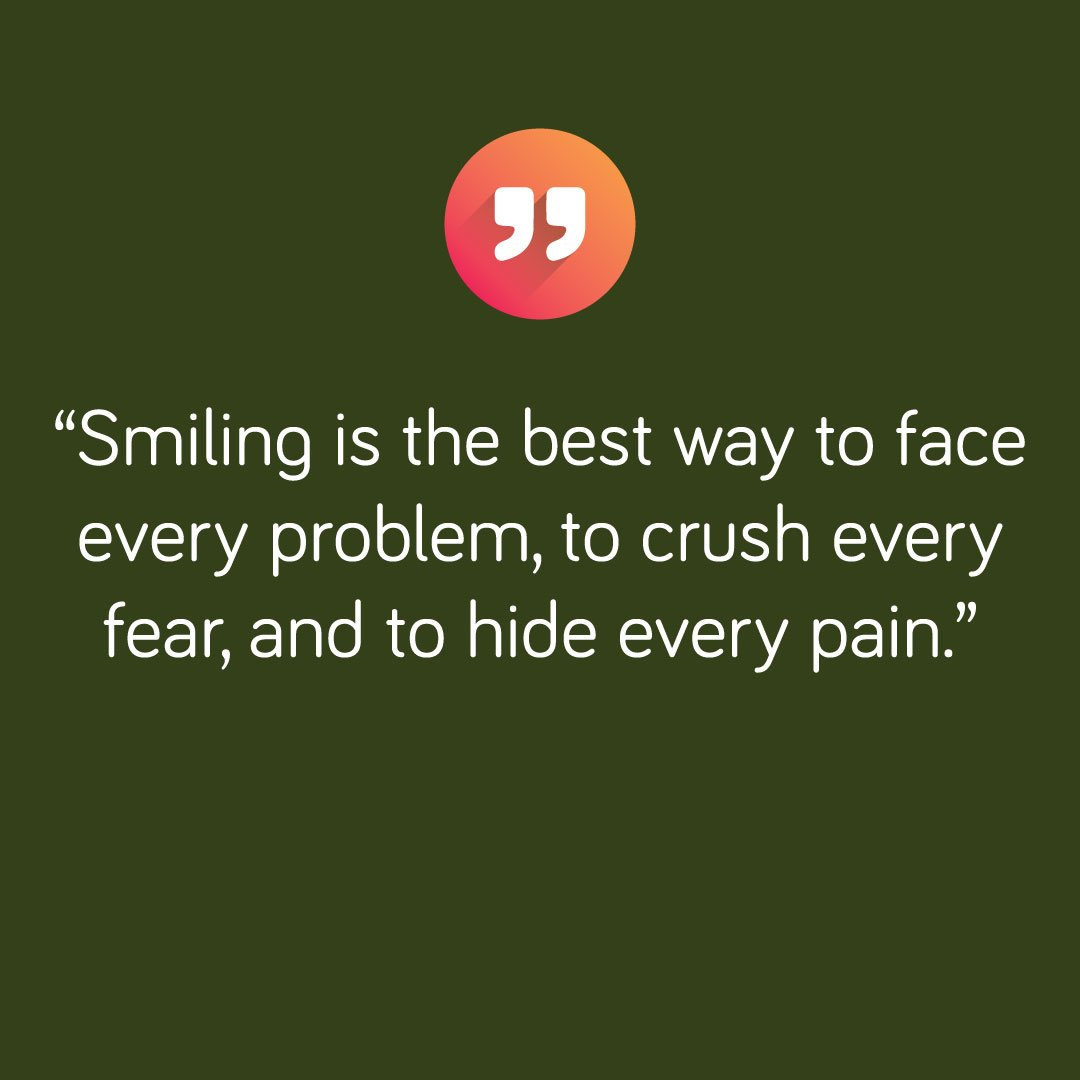 Best Quote Images On Twitter Smiling Is The Best Way To Face