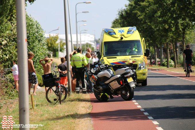 Ongeluk kind/vrachtwagen loopt met een sisser af https://t.co/ixO6amW20t https://t.co/HC91sslubD