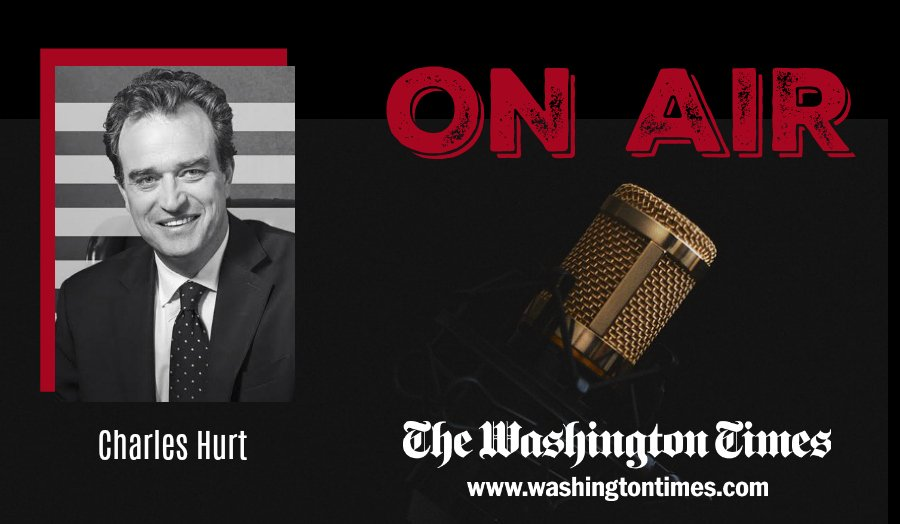 ALERT: Check out @CharlesHurt on @FoxNews @TheFive today at 5pm ET! #TheFive