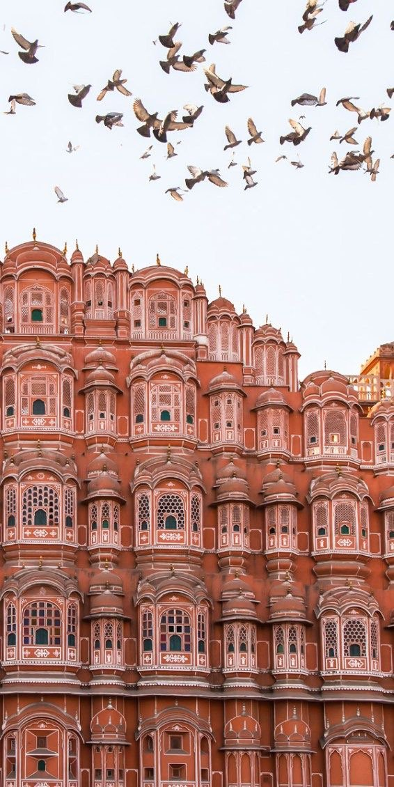 Hawa Mahal Sarayı, Hindistan.