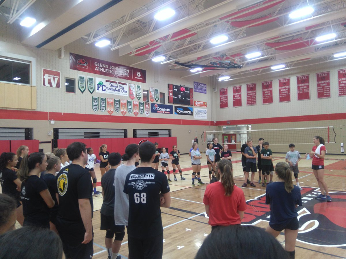 Thank you @WesternMustangs WVB Assistant Coach Heather Brinkman for spending the day with our #FCVC Elite campers.