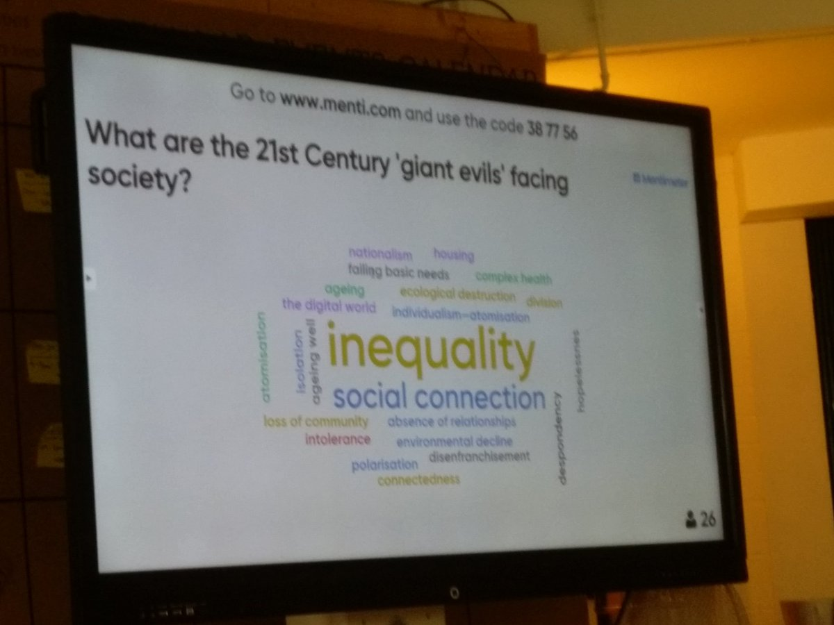 21st century giant evils identified by attendees at @RSA_PSC event