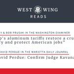 "Image for the Tweet beginning: ""Trump's aluminum tariffs restore a"