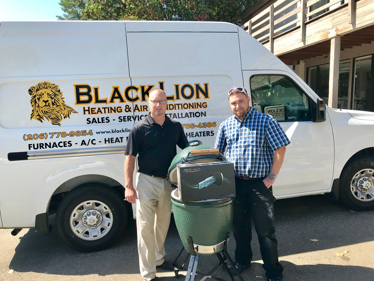 Airefco Inc On Twitter Congratulations To Drew At Black Lion Heating Air Conditioning For Winning The Greenegg In Remehalo Drawing From