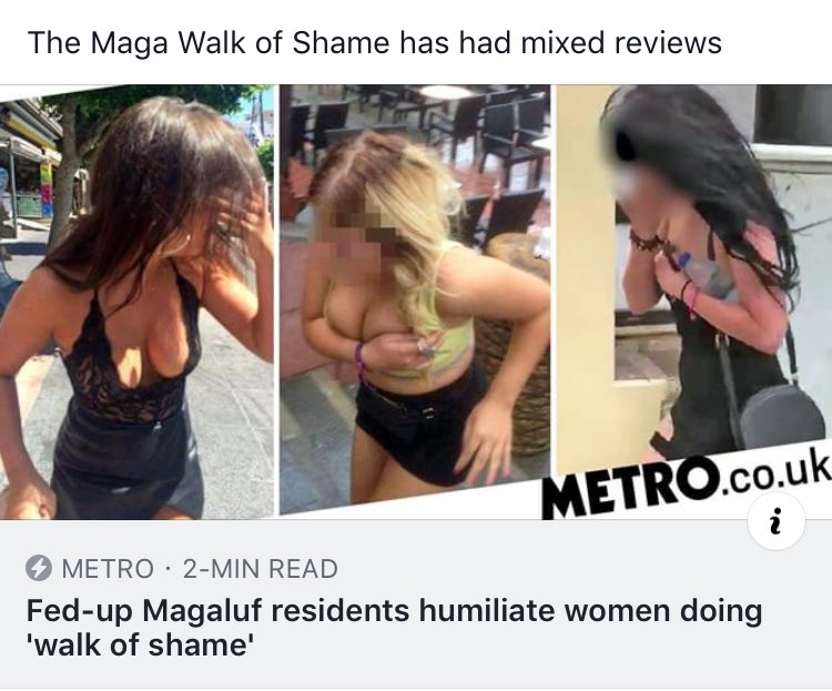 The constant desire to shame women who are having fun really can fuck right off.