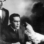 Image for the Tweet beginning: Soviet poet, body-builder & futurist