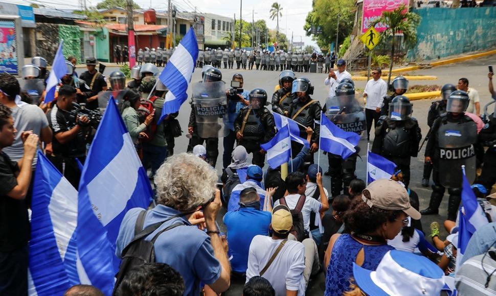 ONU denuncia que la ley sobre terrorismo en Nicaragua criminaliza la protesta https://t.co/Fdd3Qn9Jcu