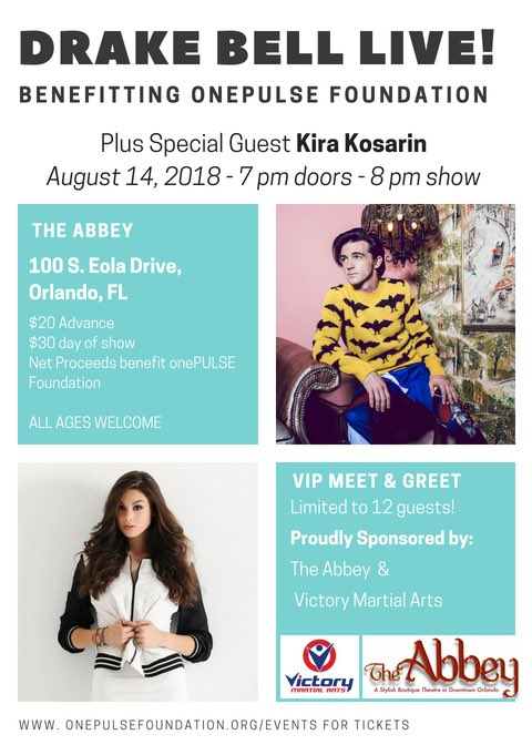 Drake bell drakebell twitter get your tickets here httpseventbriteedrake bell benefit concert with special guest kira kosarin tickets 47665655258 picitter m4hsunfo