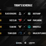 Image for the Tweet beginning: LATAM play day #4 starts
