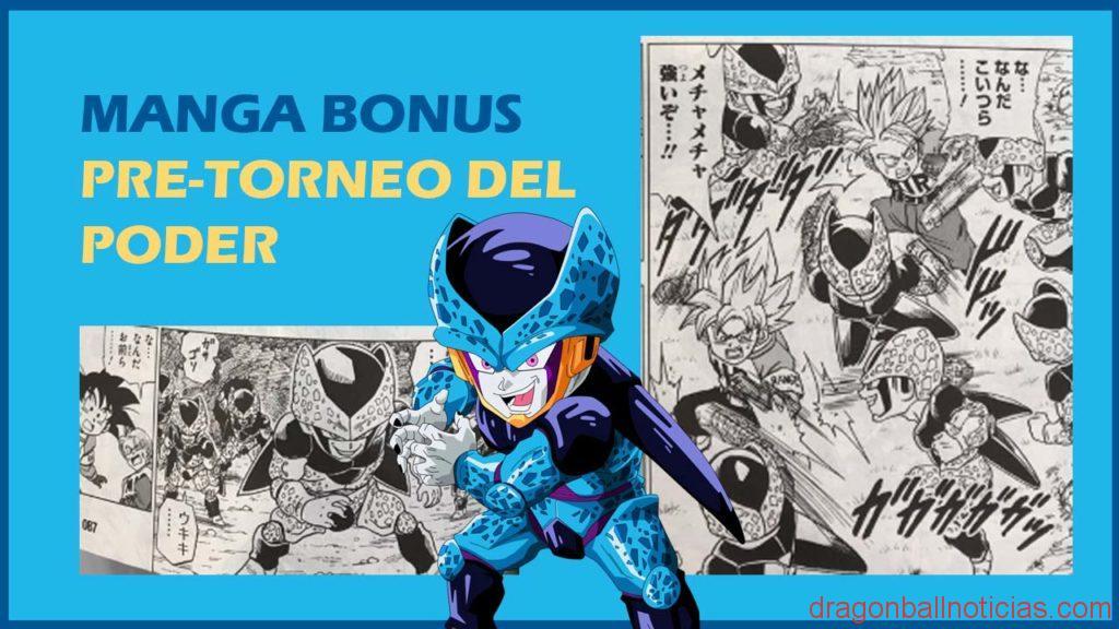 Pezones De Monaka On Twitter Dragon Ball Super Manga Bonus Cell