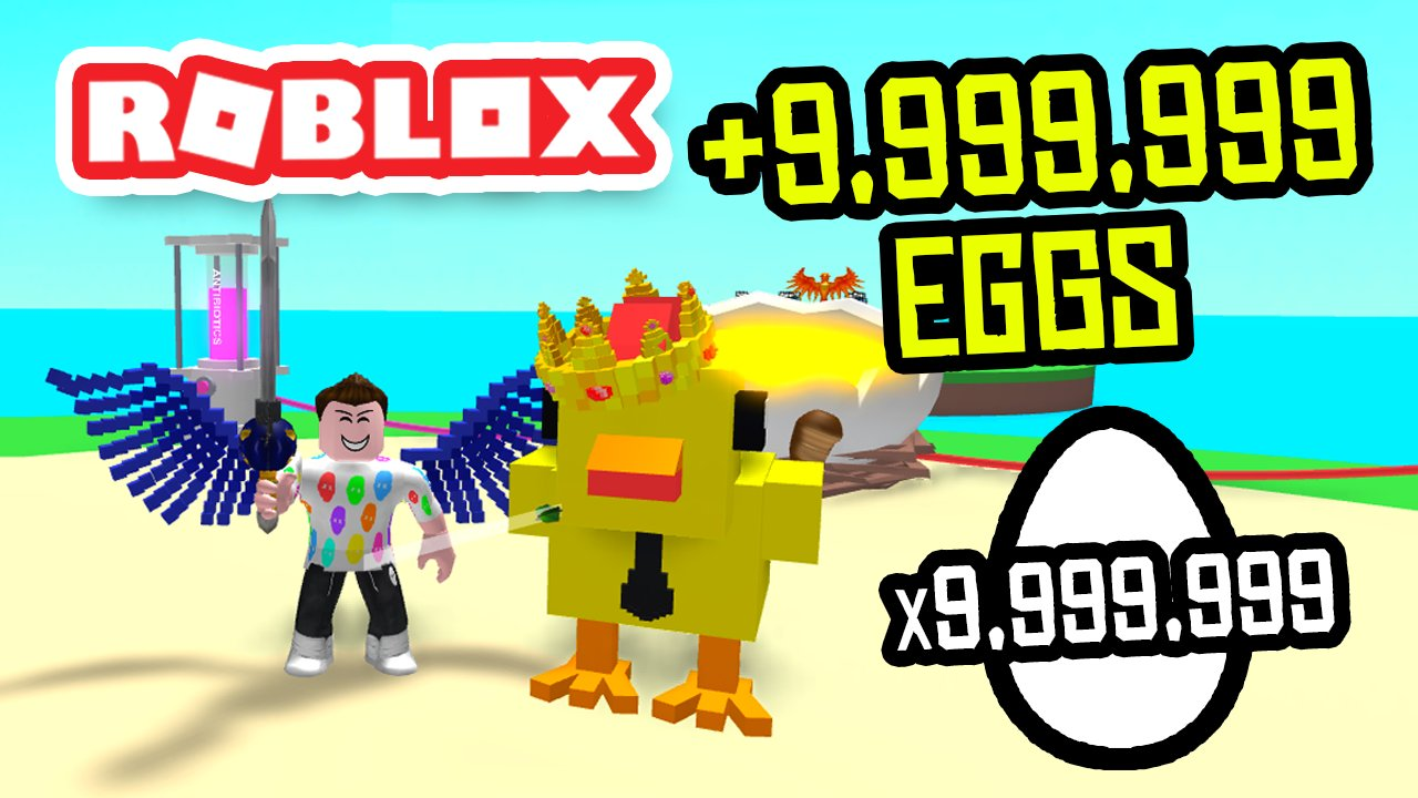 Youtube Roblox Egg Farm Simulator - Seniac On Twitter Earning 9999999 Eggs In Roblox Egg