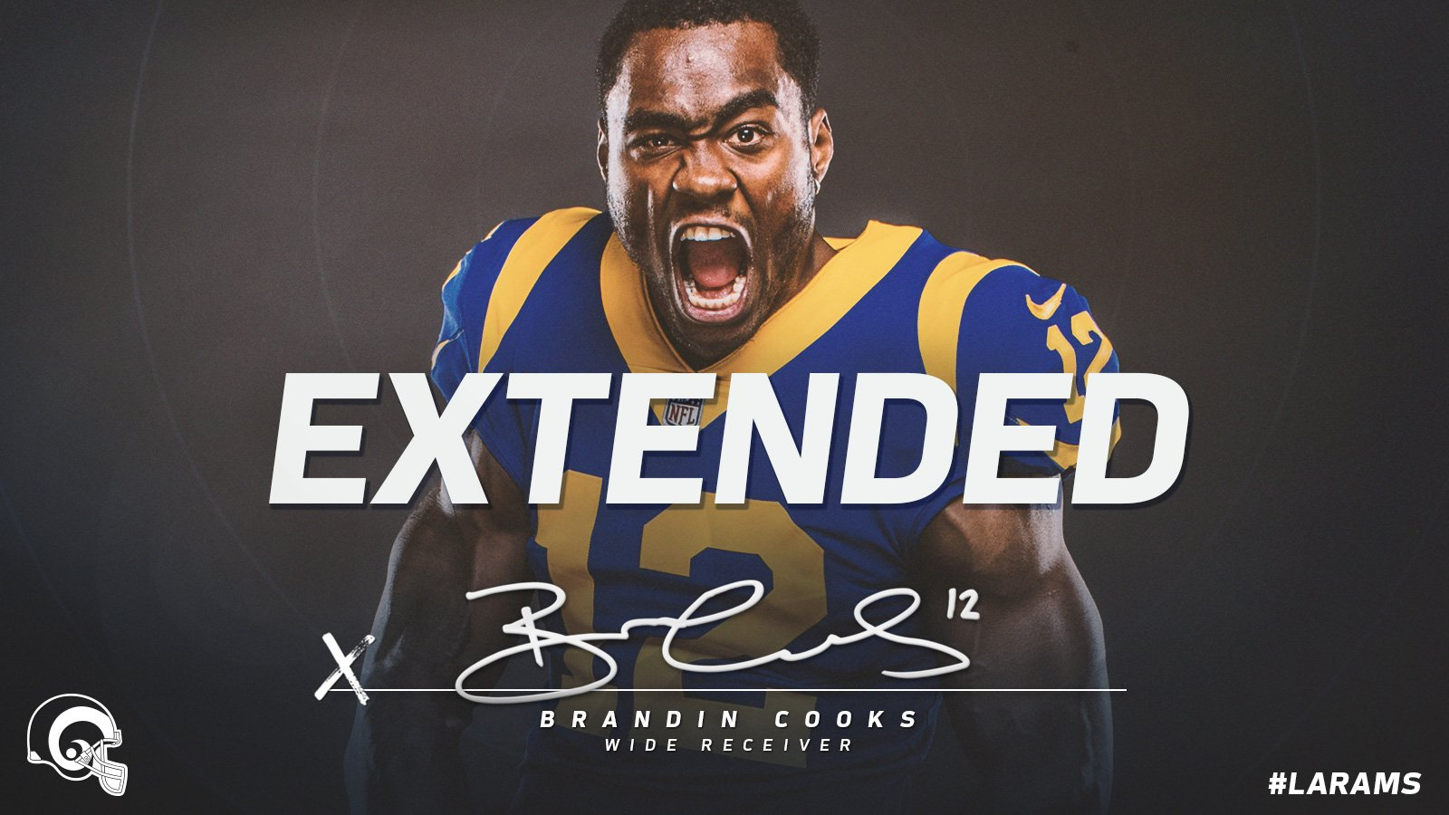 The Archer is here to stay. ��  #LARams sign @brandincooks to a 5-year extension �� » https://t.co/iw2yJ5xptt https://t.co/JL6KxZjGC2