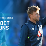 With back to back unbeaten centuries, who else could the Player of the Series be other than @root66! 🙌 #ENGvIND