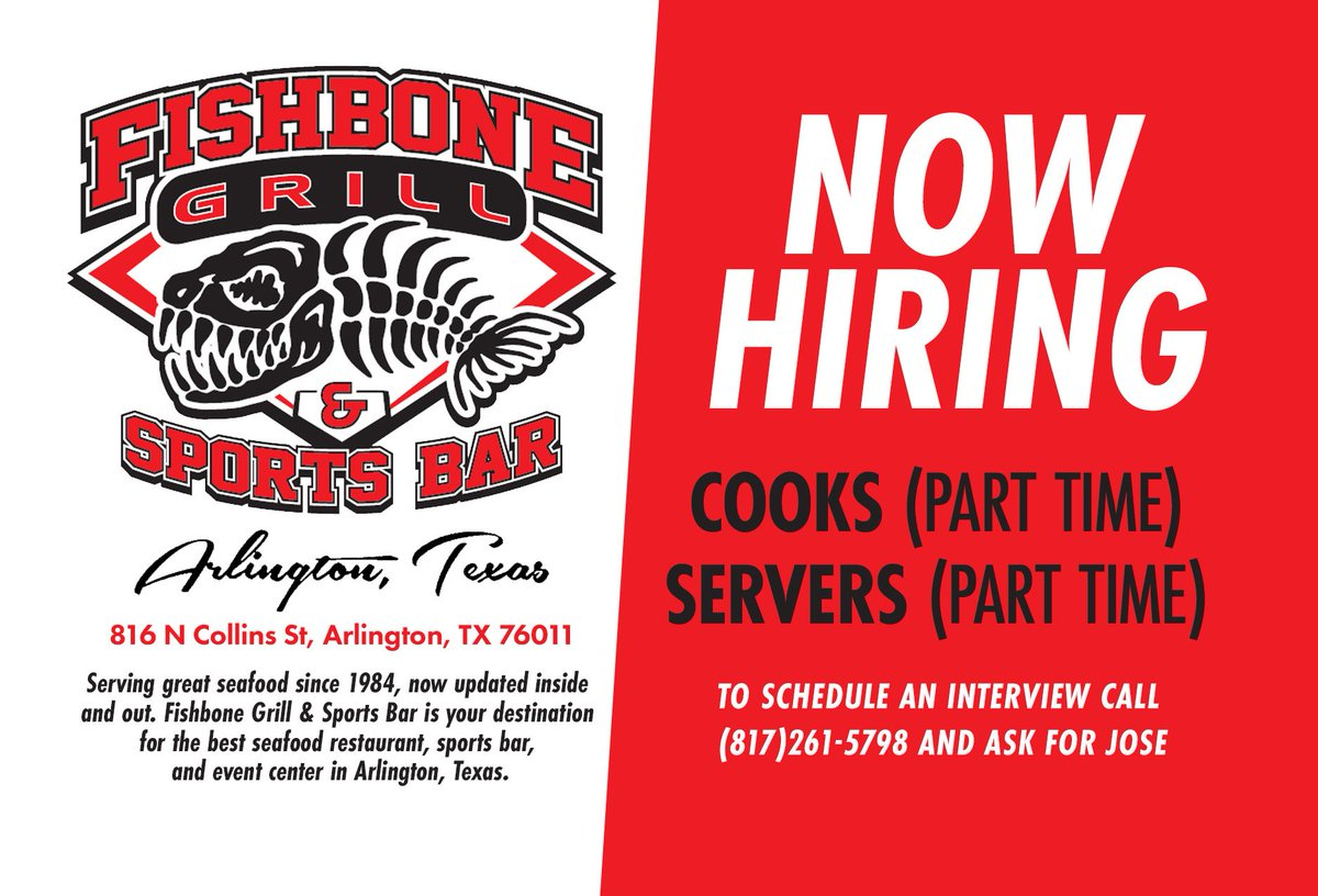The Fishbone Grill on Twitter: