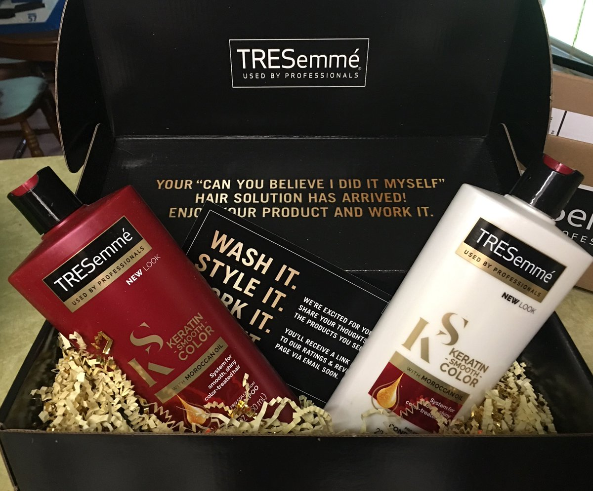 Tresemm Hashtag On Twitter Tresemme Keratin Smooth Shampoo 70ml Full Size Bottles Of Always Rememberfree Means No Money Oop I Have Never Once Even Paid For Shipping Anything Won