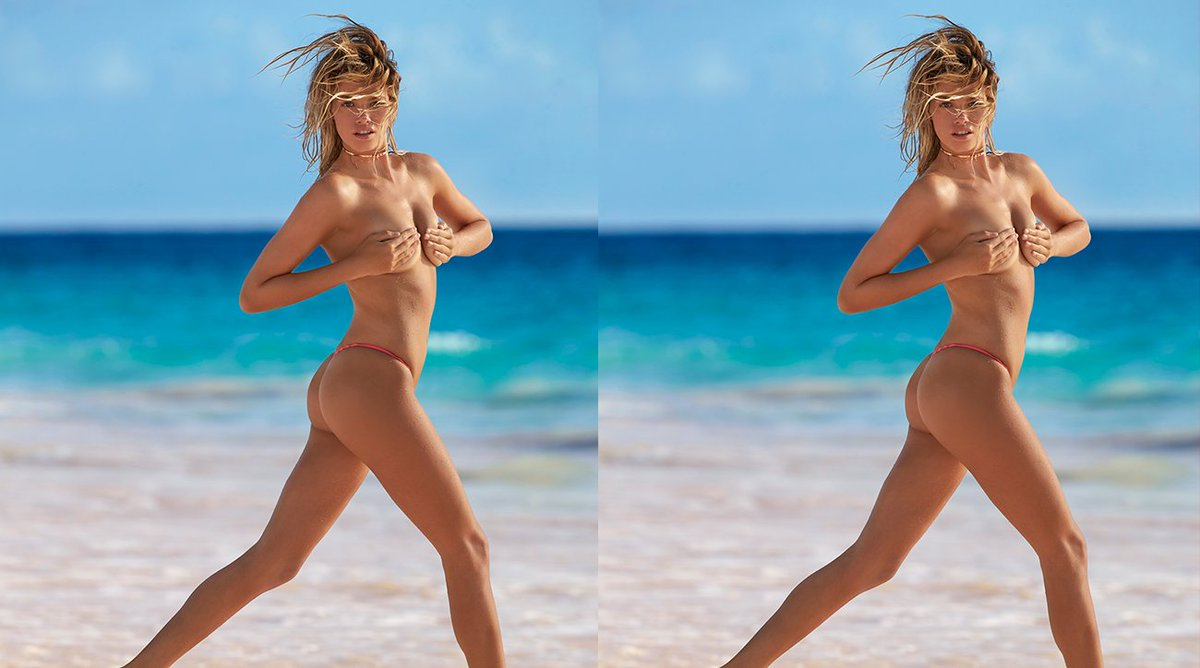 A day is not complete without a little Hailey Clauson! on.si.com/2NnJlmX