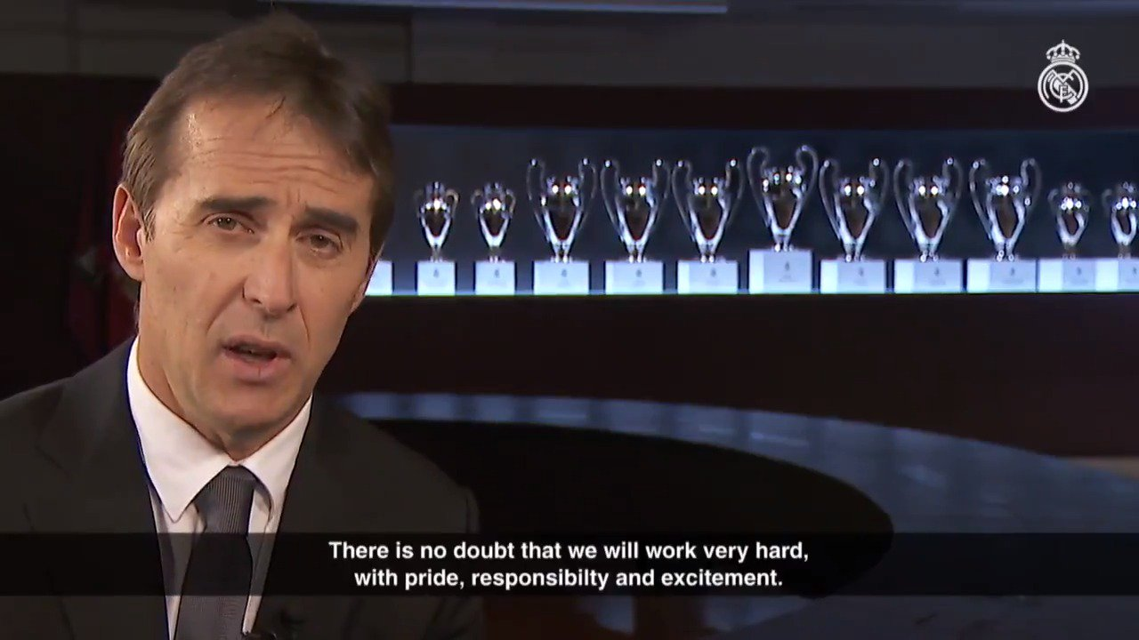 ���� #RMFans, check out this special video message from our head coach @julenlopetegui! #HalaMadrid https://t.co/QCDpw5g4fp