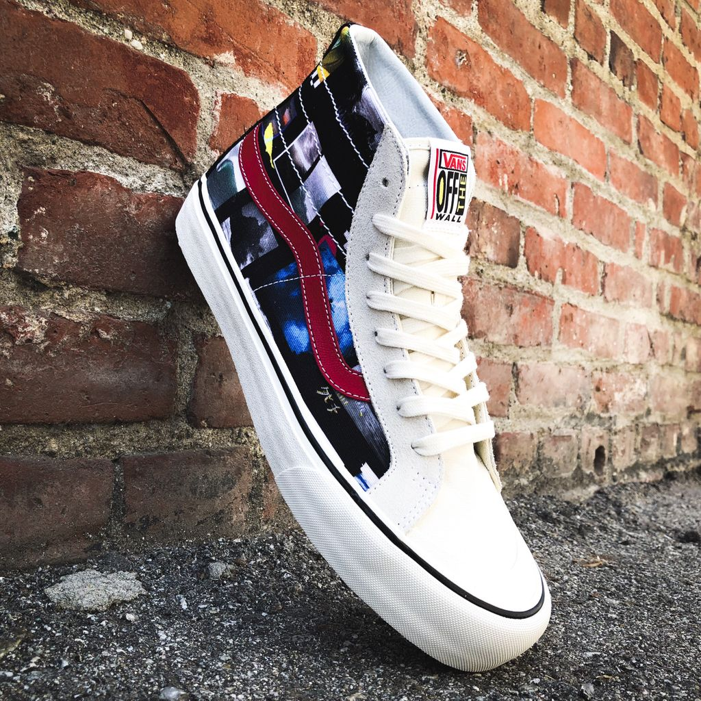 40fa9c0f3b The Vans x Daniel Russo Sk8-Hi 138 Decon combines some of his favorite  photos he has taken with some of Vans classic silhouettes.