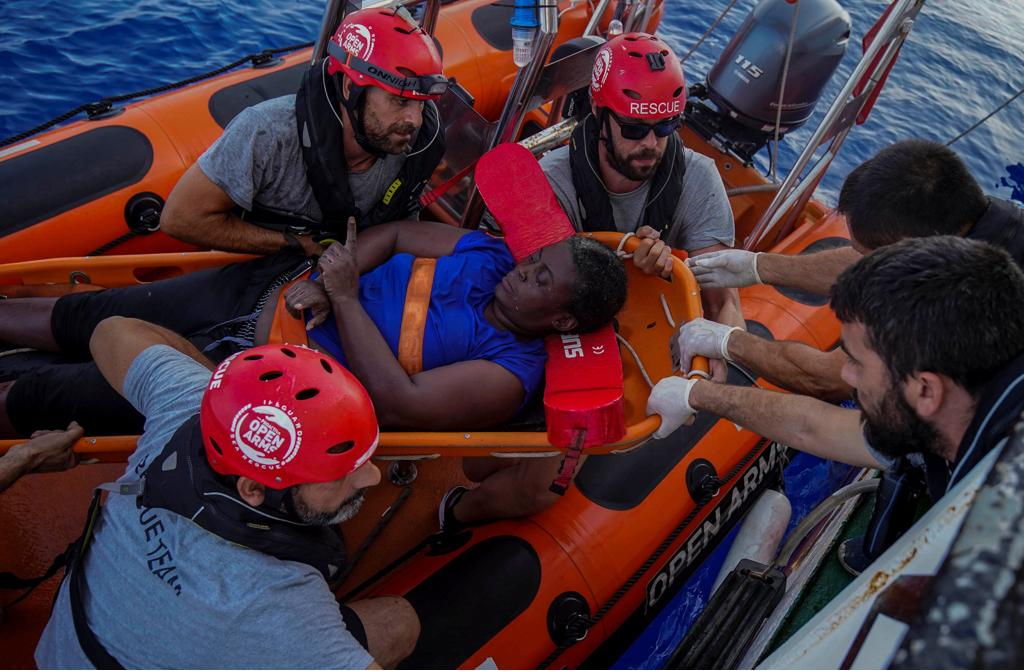 Frustration, anger, and helplessness. It's unbelievable how so many vulnerable people are abandoned to their deaths at sea. Deep admiration for these I call my teammates at this time @openarms_fund