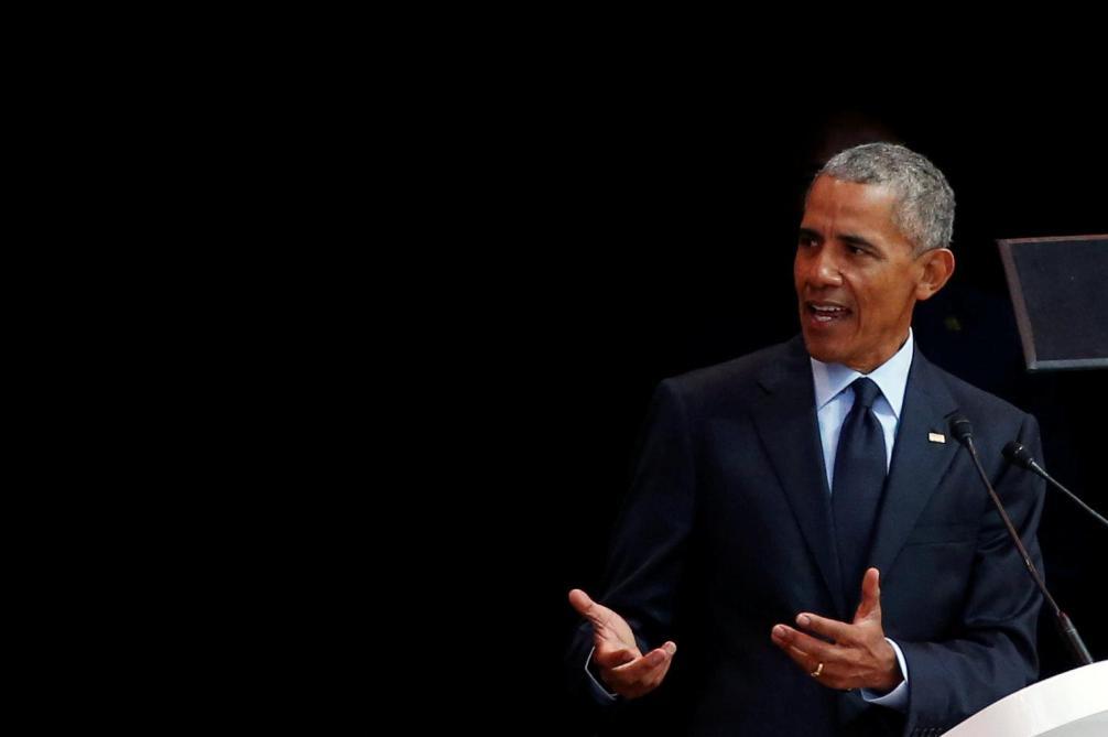«Les Bleus ne ressemblent pas à des Gaulois, mais ils sont Français» : Barack Obama salue la diversité de l'équipe de France https://t.co/12XI3maMoj