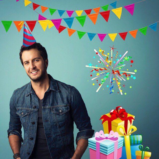 For the Luke Bryan fans...Happy Birthday to you Luke!!