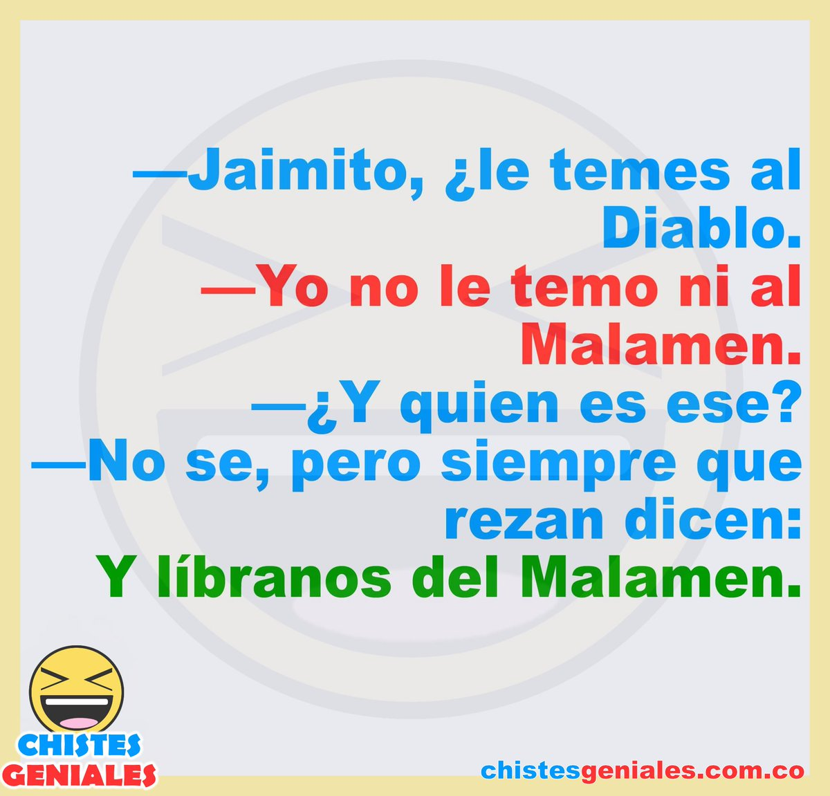 Chistesgeniales Chistes Humor Tweet Added By Chistes Geniales