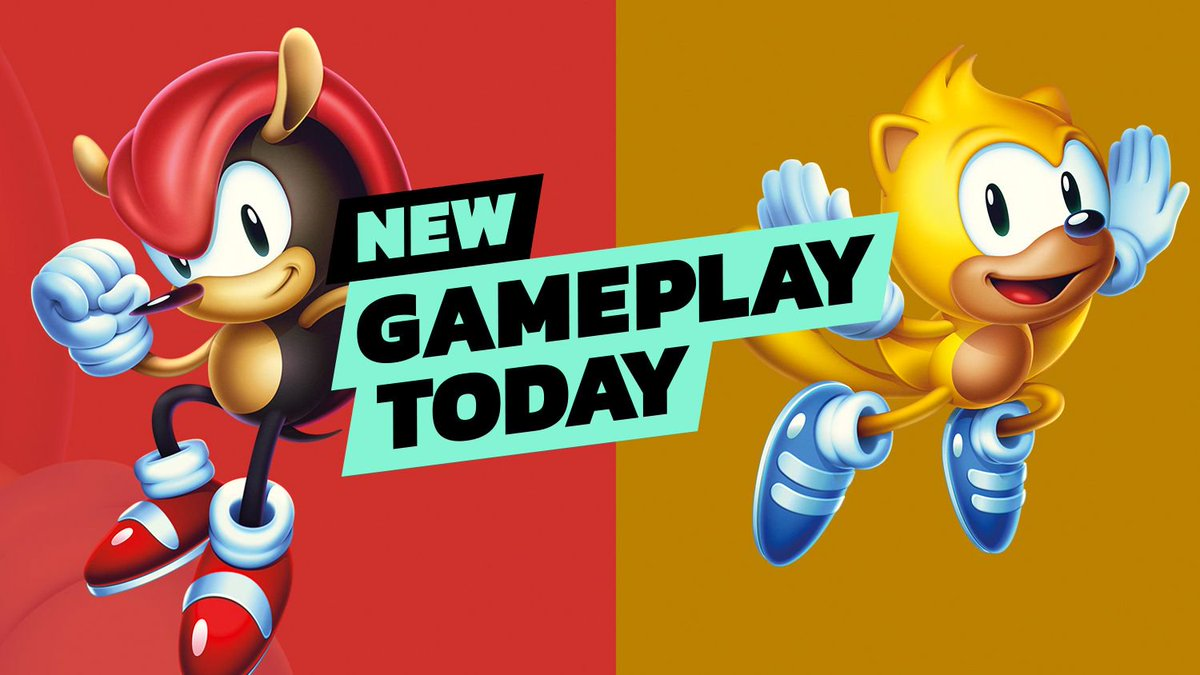 Sonic Mania Plus is out today. Watch us play the game here to learn why it has the 'Plus' suffix. https://t.co/99RYUnyl5J