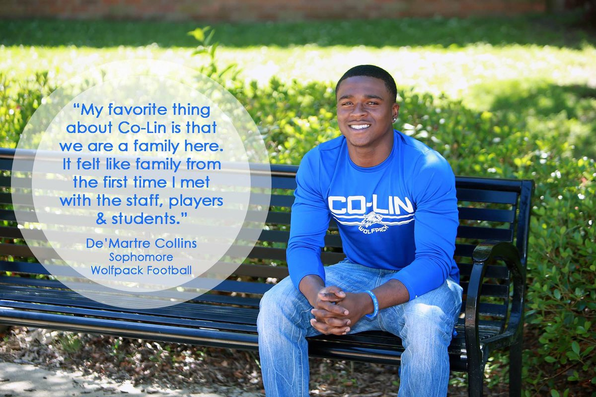 At Co-Lin, you're part of the family.