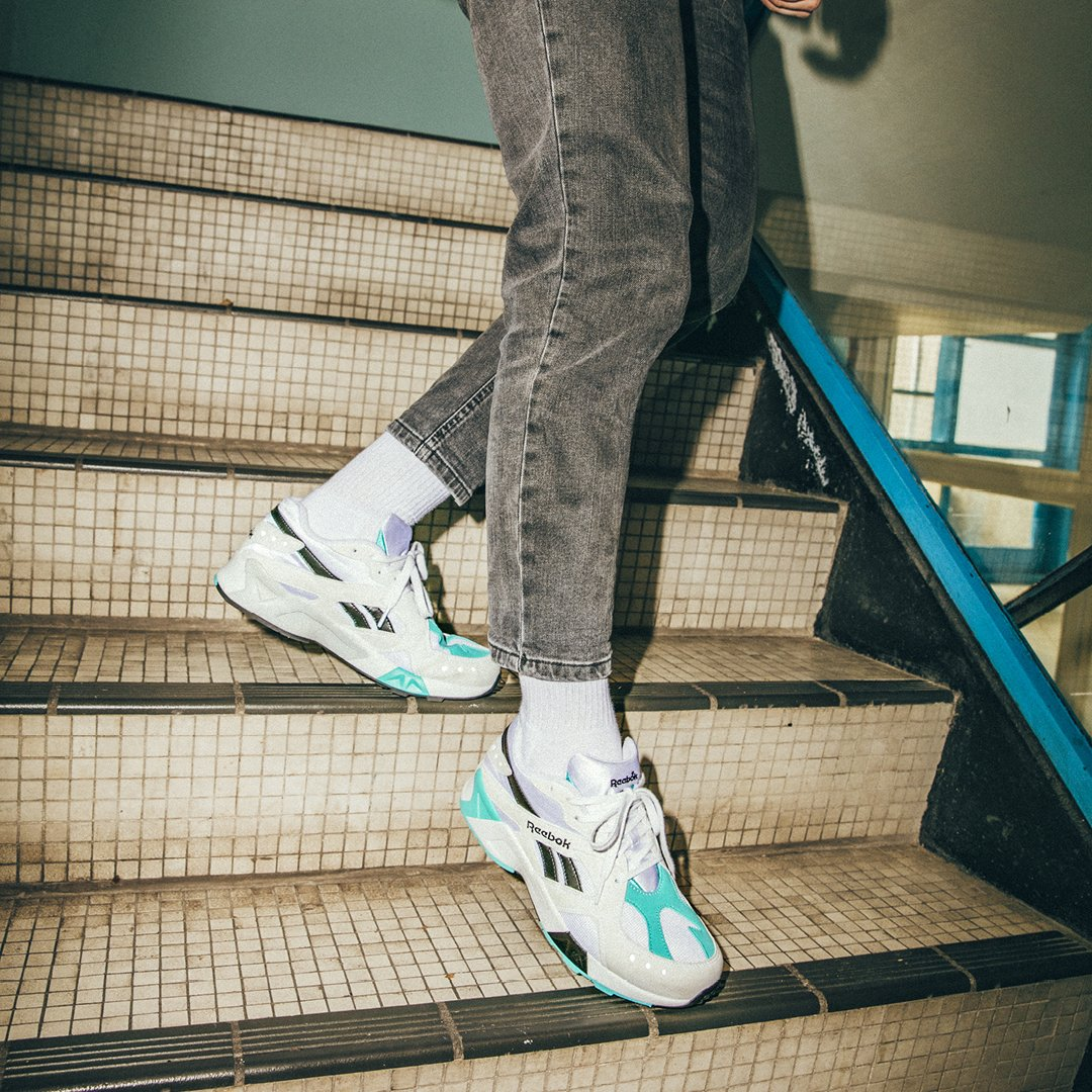 04321b29614 Add these to your dad shoe collection. The classic Reebok Aztrek OG in