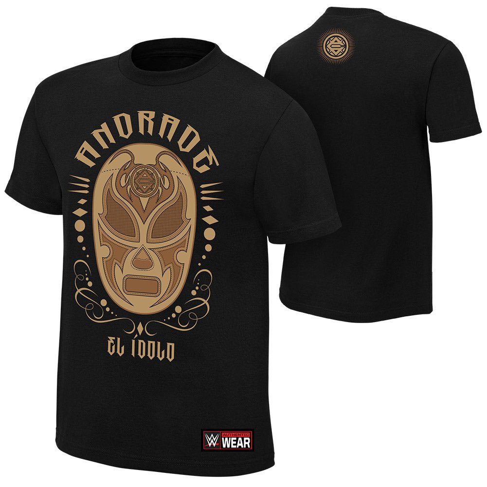 La nueva camisa de #ElIdolo #TheFuturuOfSmackDown Now available on @WWEShop https://t.co/PGiIWKmIox