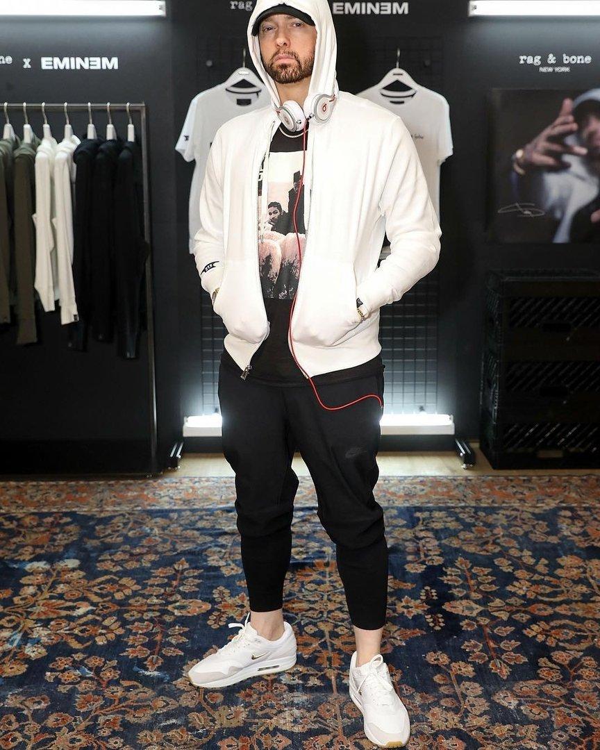 Eminem rocking Nike Air Max