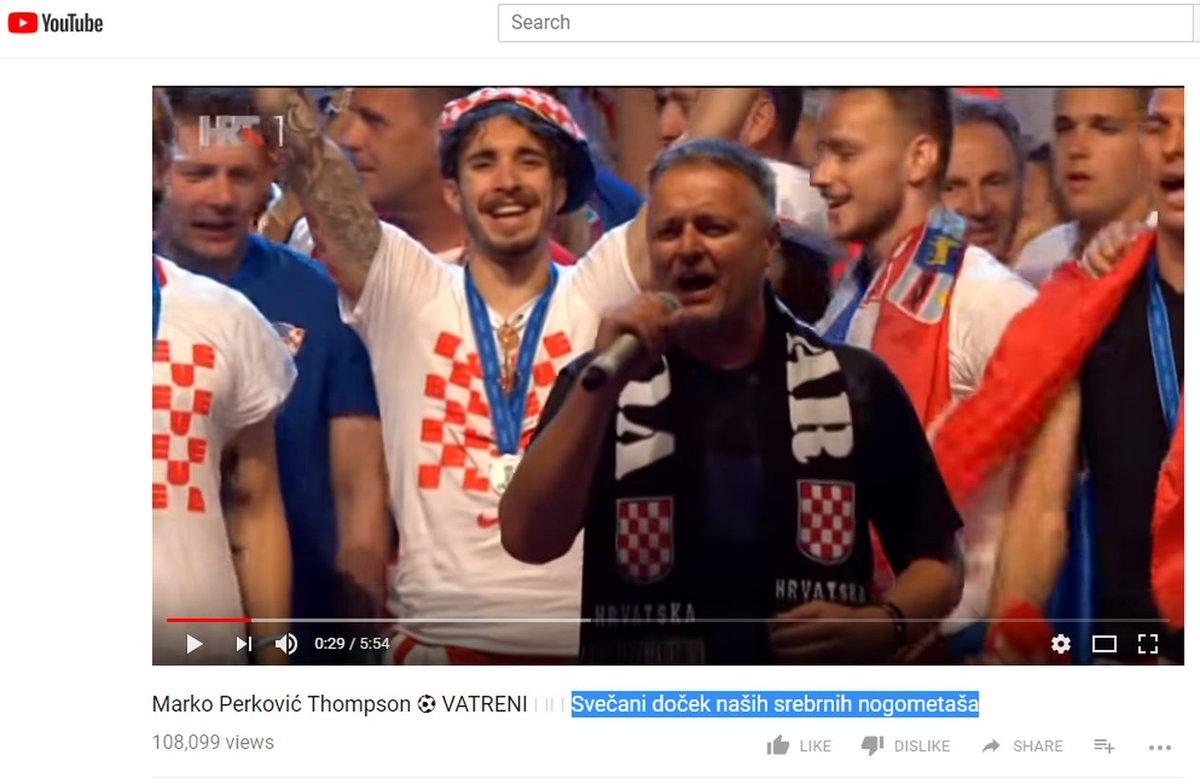 Jogadores da Croácia sobem ao palco com cantor nacionalista e continuam polêmica da Copa https://t.co/nGZuhDgzke #G1
