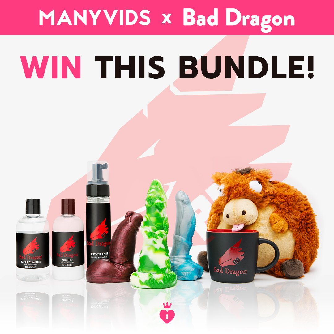 RT for your chance to win this @bad_dragon bundle!  https://t.co/2y9vqBX4Fr https://t.co/YxzI3nHMhE