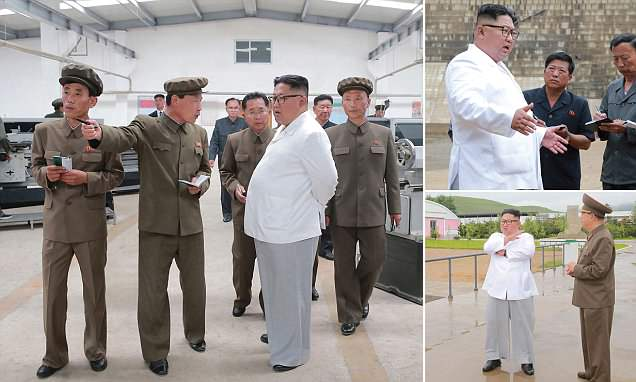 Kim gets shirty during visit: 'Extremely enraged' Jong-un debuts new summertime look https://t.co/UMqrKaNaFc