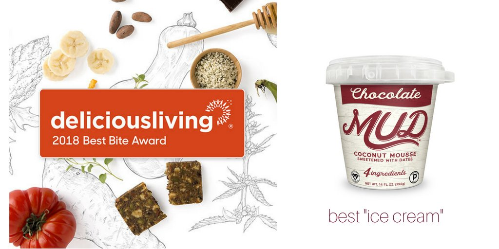 I scream, you scream, we all scream for ice cream, especially when it's @eatmudco With just four clean-label ingredients, this non dairy mousse will win over ice cream connoisseurs. Congratulations @eatmudco 208 Best Bite Award winner of 'Best Ice Cream.' https://t.co/FRRA8Anyso