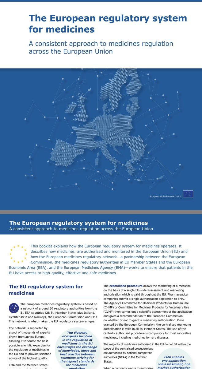 On the defeat - Govt now mandated in law to take all necessary steps to remain part of European medicines regulatory system -a system only open to EEA and EU members, for which the European Commission makes binding decisions...its Single Market for pharma https://t.co/0zIZw8Eek1