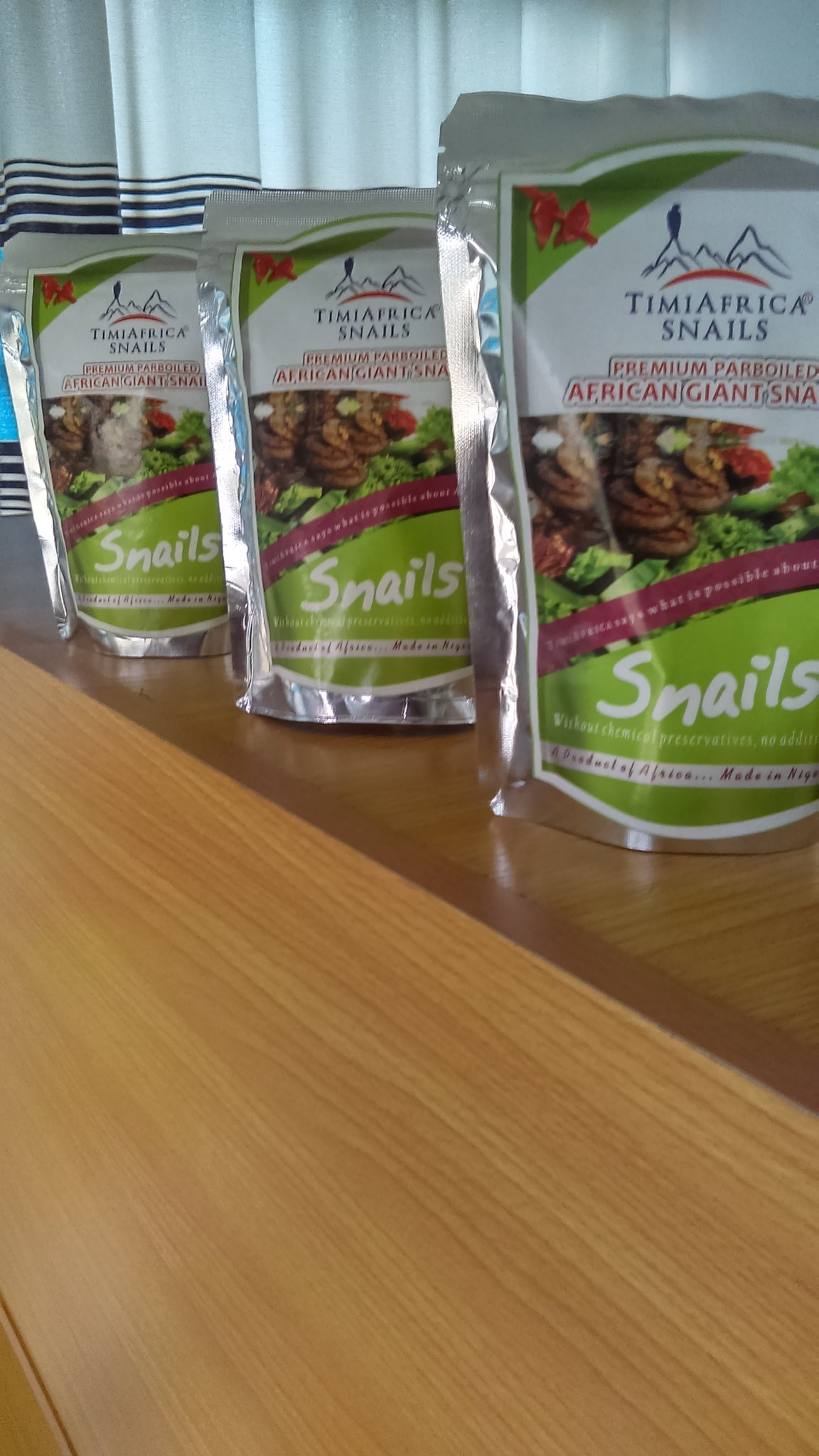 We do export ready snails. My customers could be on your TL please help retweet. #TIMIAFRICA Snails https://t.co/5VmMQFZXpp