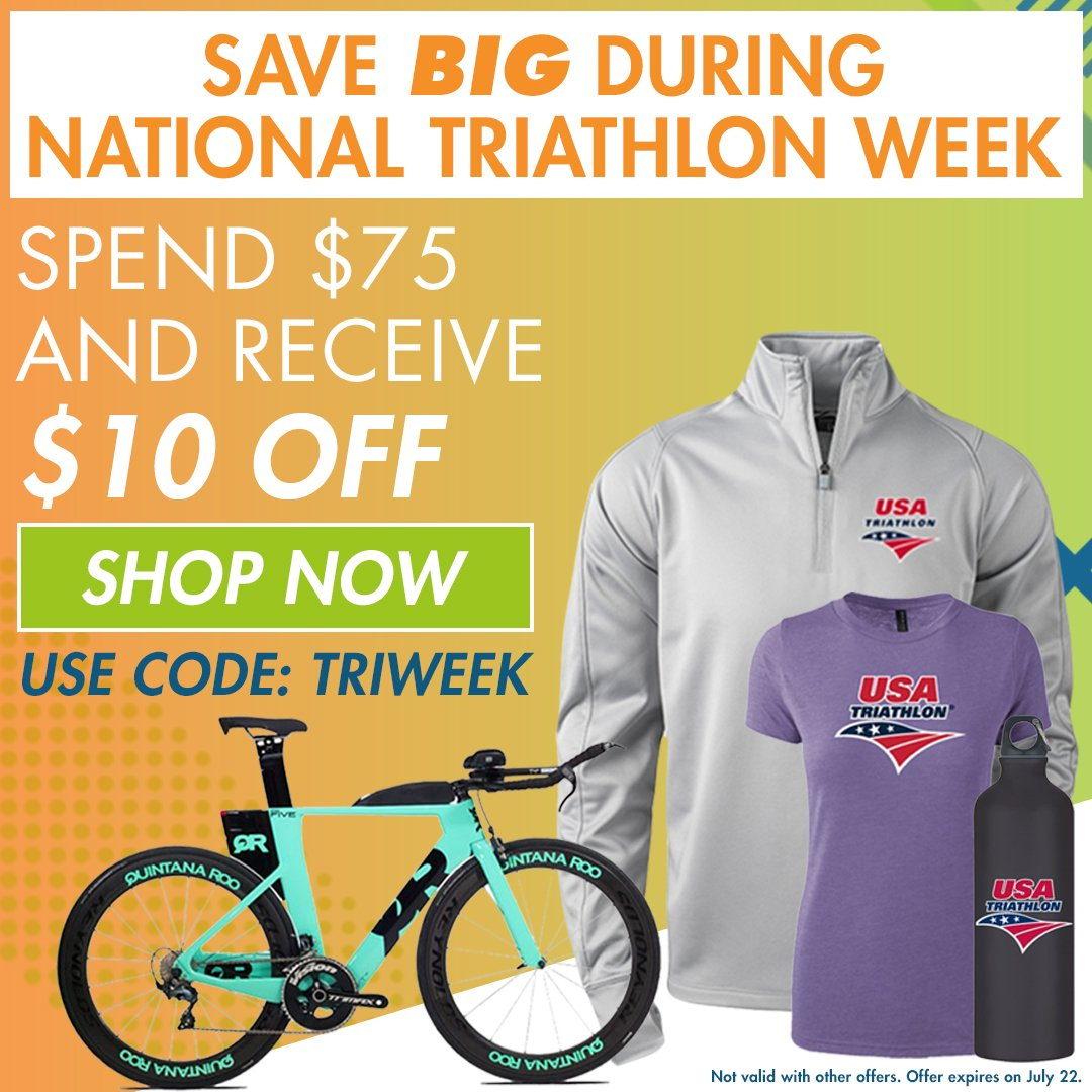 National Triathlon Week Store Check : swag National