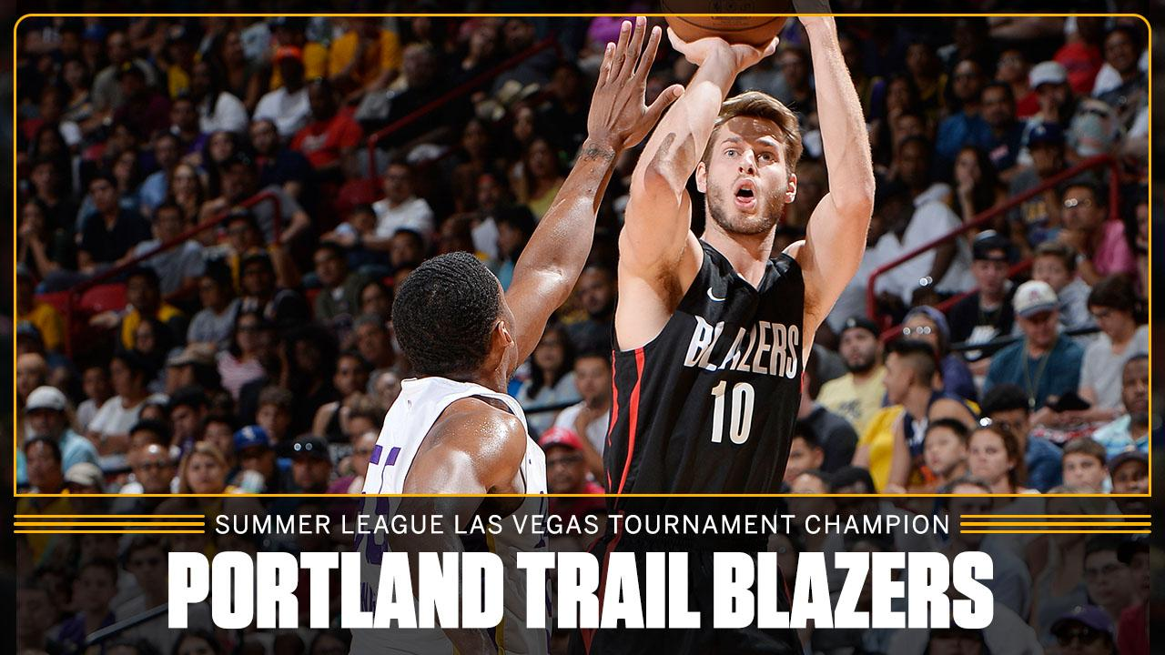 The @trailblazers go 7-0 and leave with a title in Vegas �� https://t.co/tiS0xeWefh