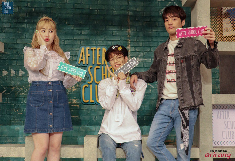 'After School Club' announces new MCs Stray Kids's Seungmin & Heejun! https://t.co/mS1Jjp8THt