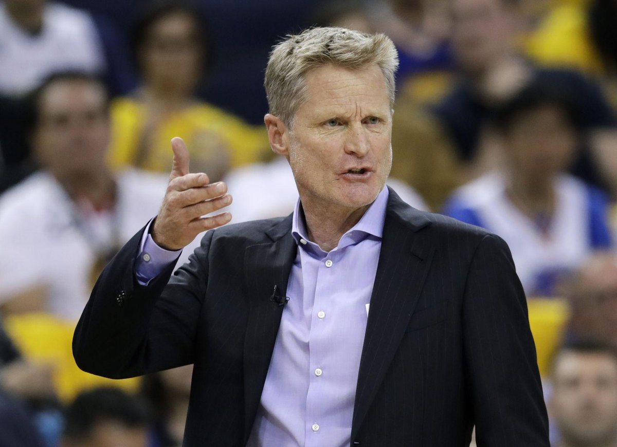 Former Wildcat Steve Kerr agrees to contract extension with Warriors https://t.co/5RUDGNAZQl