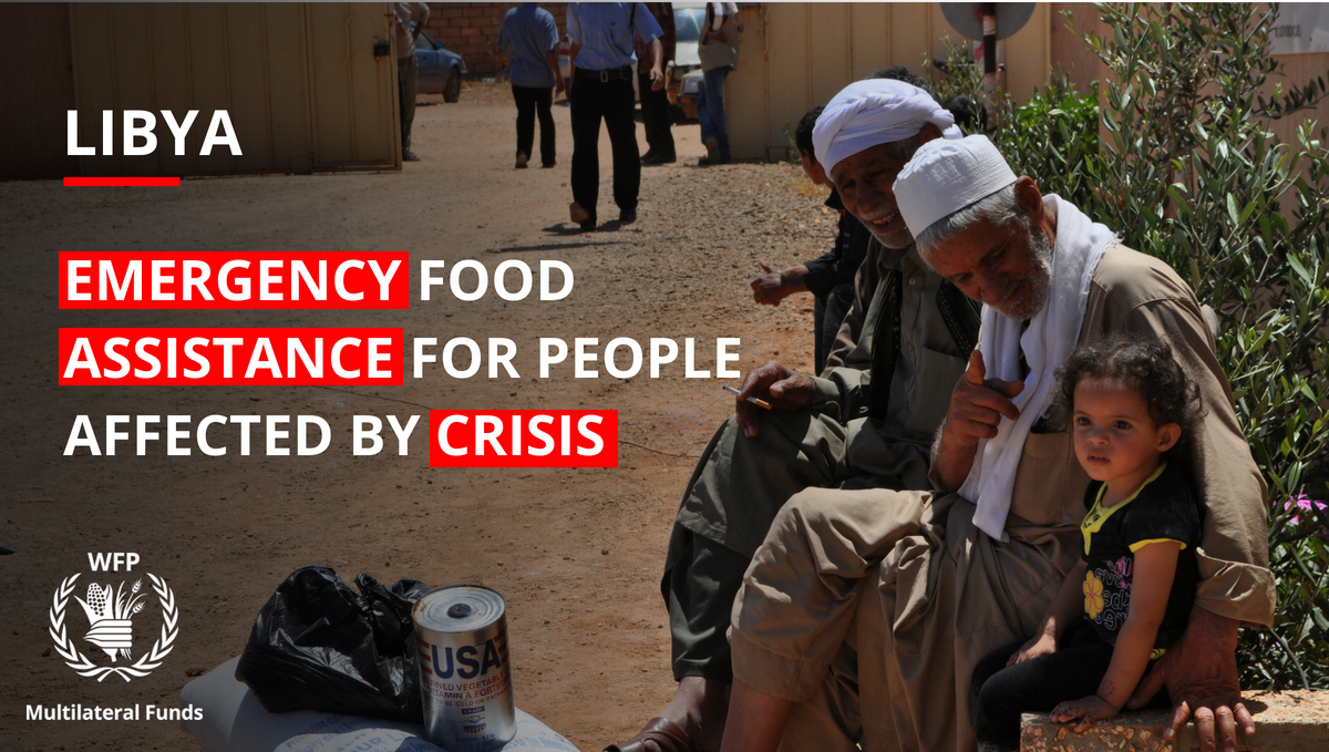 2017 saw the continued deterioration of the humanitarian situation in #Libya. Thanks to the US$3.5 million received in multilateral and Immediate Response Account funds, WFP was able to procure in-kind monthly rations to feed more than 88,000 people: https://t.co/MvkGuq0EZo