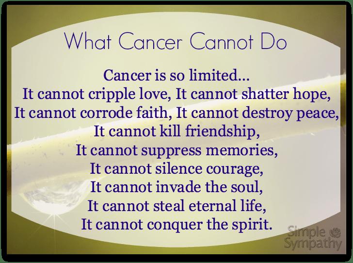 Cancer Poems 7