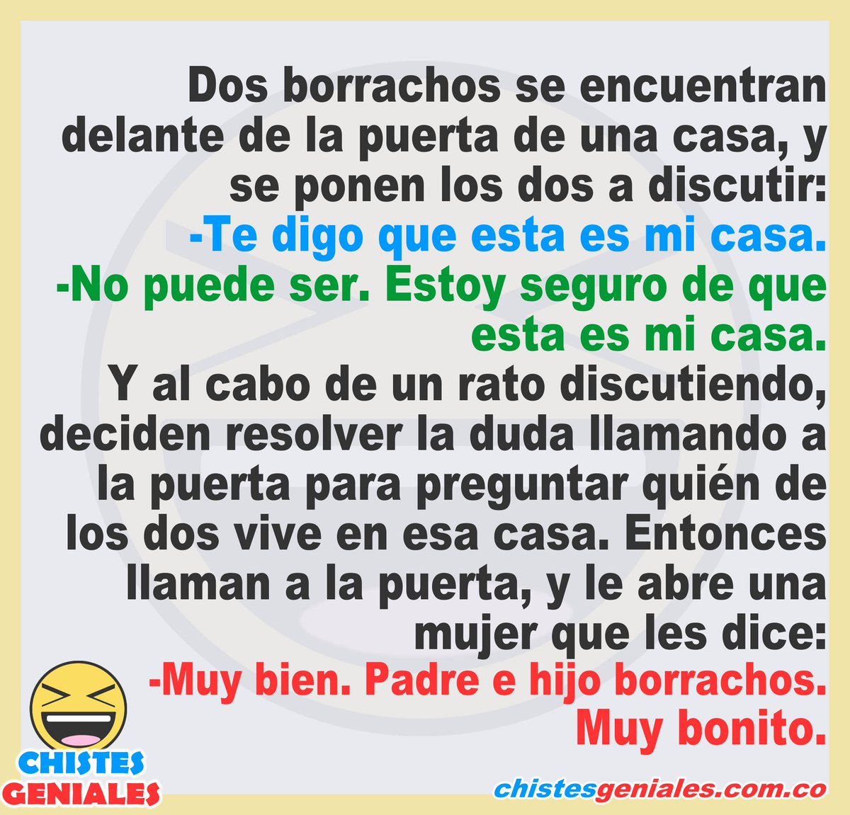 Chistes Geniales On Twitter Chistesgeniales Chistes Humor