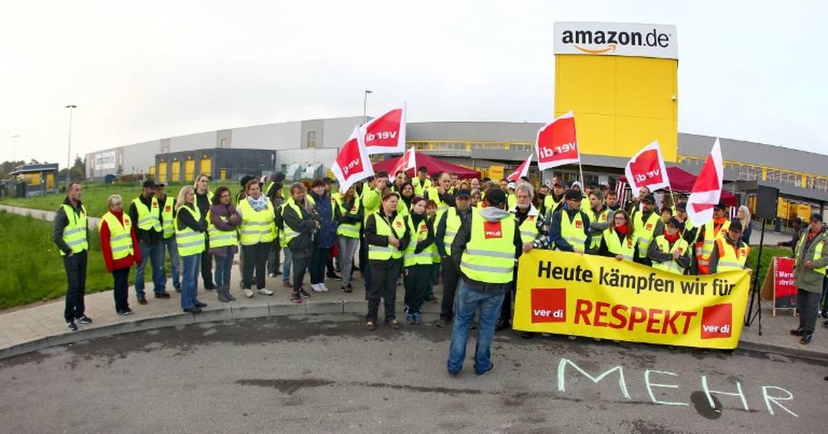 Amazon. Grève des employés en Espagne et en Allemagne https://t.co/AZcQSKIKQk