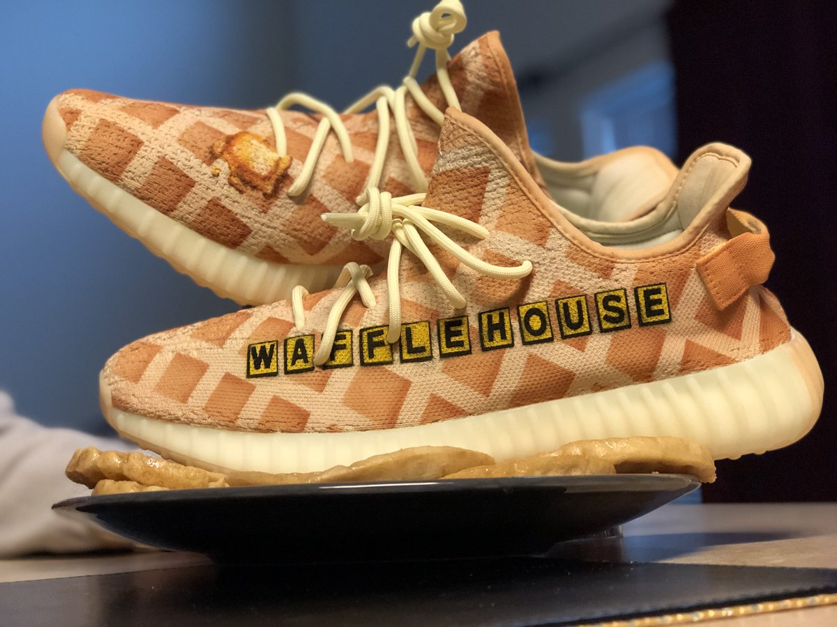 The butter Yeezys were just screaming