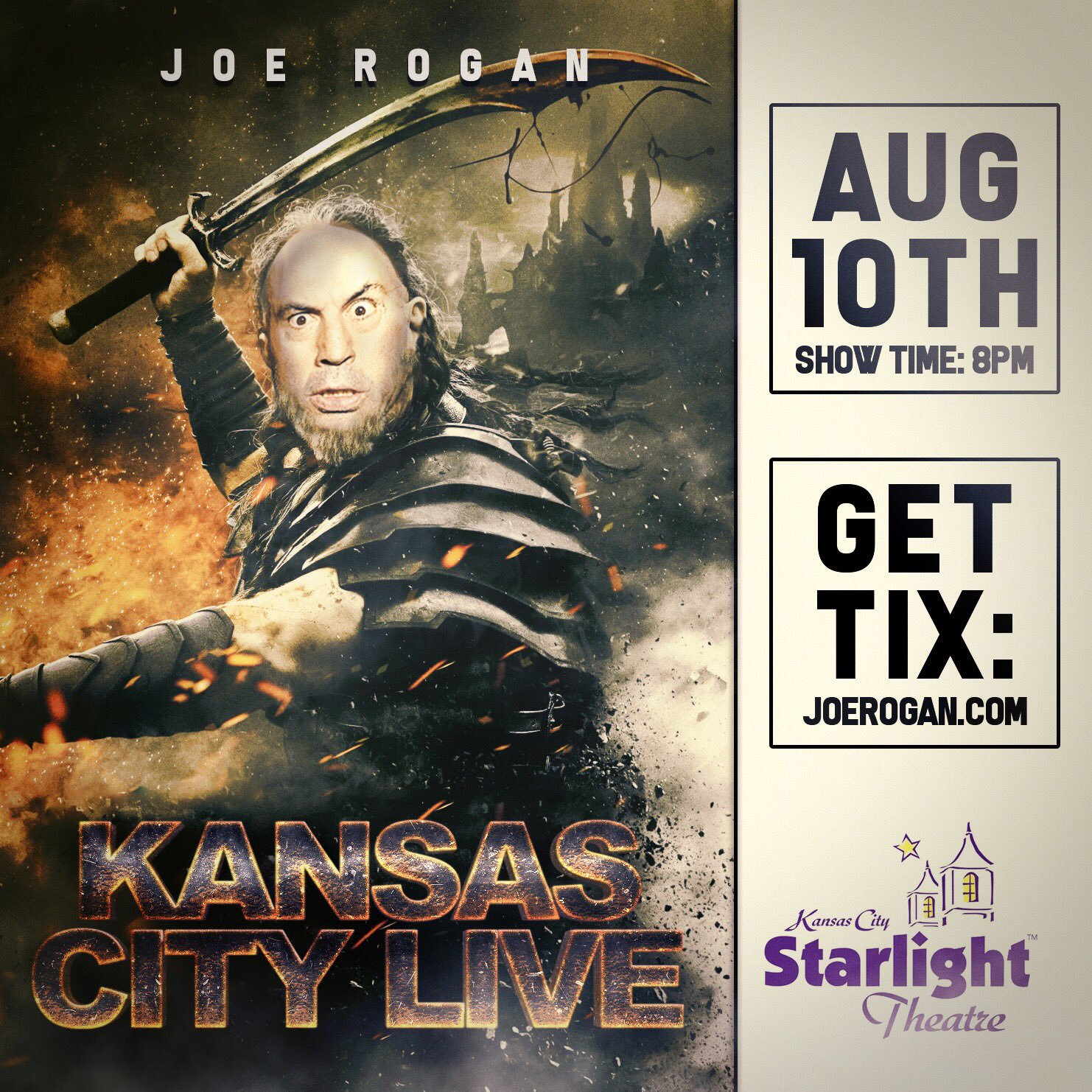 Kansas City! I return to your fine town August 10th for the first time in years. I'm pumped! https://t.co/QaS20jiVOG https://t.co/4R3DSFBDHJ