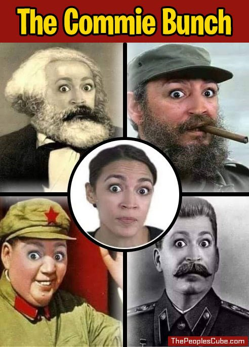 Image result for commie Ocasio-Cortez